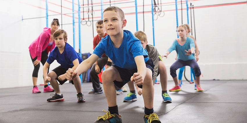 Κυκλική προπόνηση (7-10 χρονών)